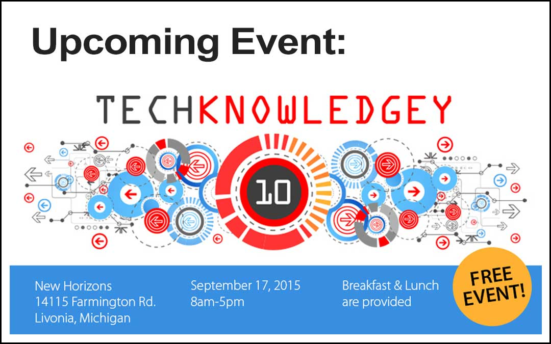 Total Solutions presenting at TECHknowledgey 2015